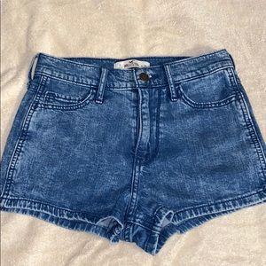 Jean shorts (pretty short)